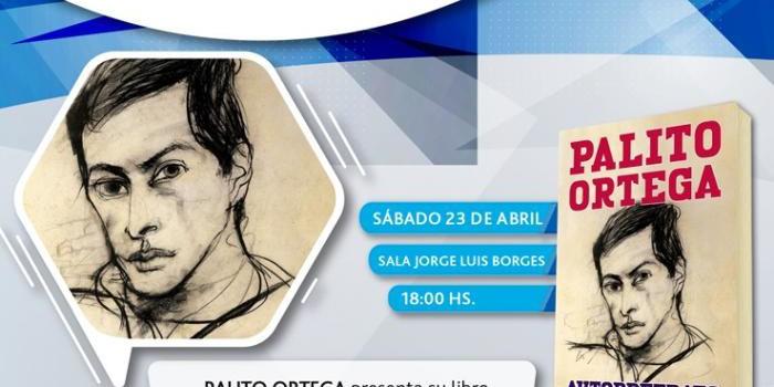 """Presentación de """"Autorretrato"""" De Palito Ortega En La Feria Del Libro."""