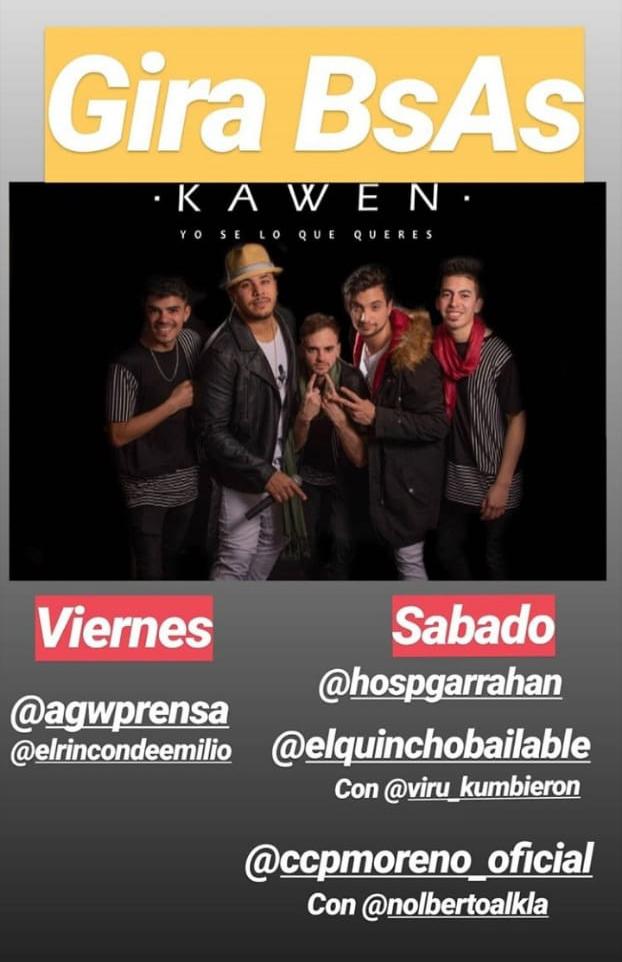 Grupo Kawen 30-08-2019