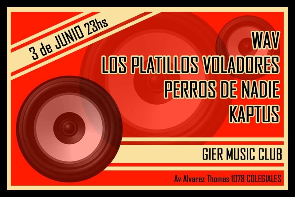 Los Platillos Voladores 03-06-2016