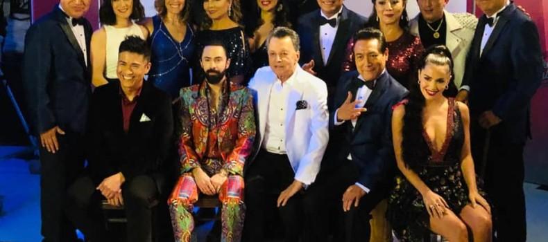 Palito Ortega Junto A Los Angeles Azules.